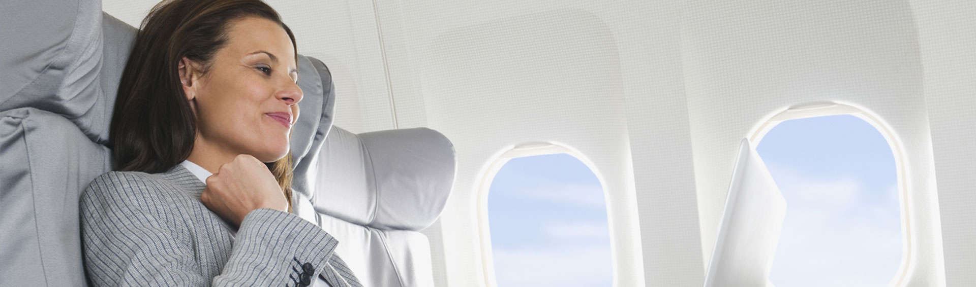 Fly with Class. <br> Business Class.