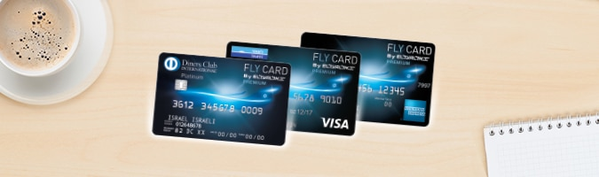 Credit cards el al airlines fly card premium reheart Choice Image
