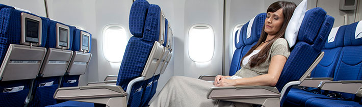 Enjoy A More Comfortable Pleasant And Pampering Flight Experience