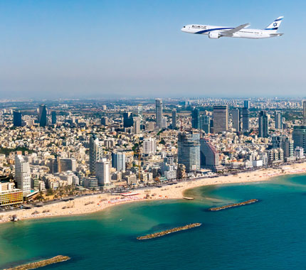 Miami to Tel Aviv<br>
