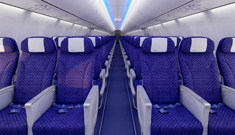 El al nouveau boeing 737 900 er el al for Interieur 737