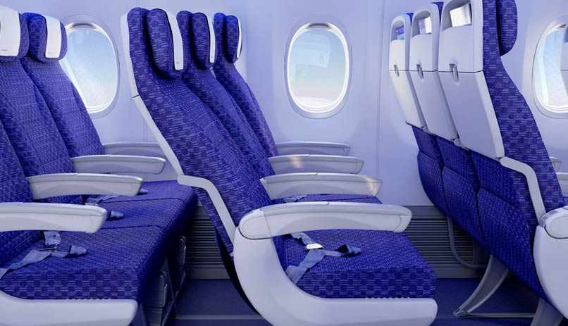 Image result for EL AL 737 INTERIOR