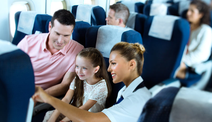 travel information special flight requirements flying with children