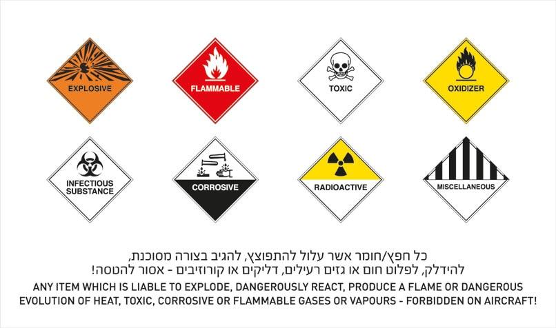 Dangerous Substances   EL AL Airlines