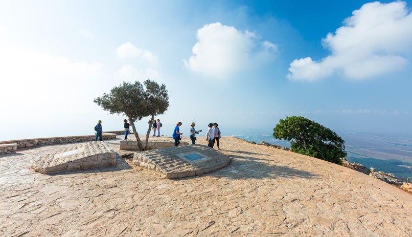 Israel for pilgrims - Mount Precipice
