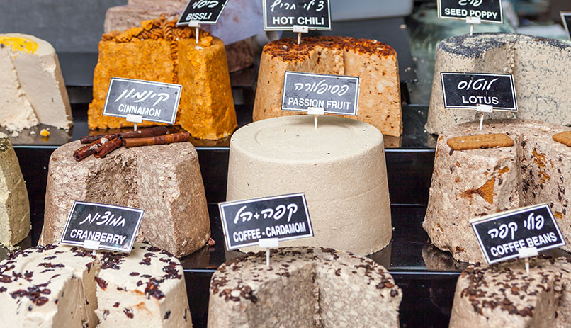 All flavours of Halva