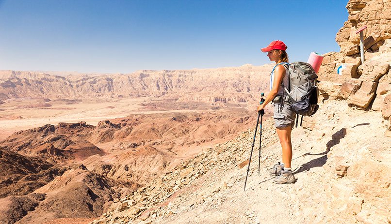 Hiking in Israel National Trail