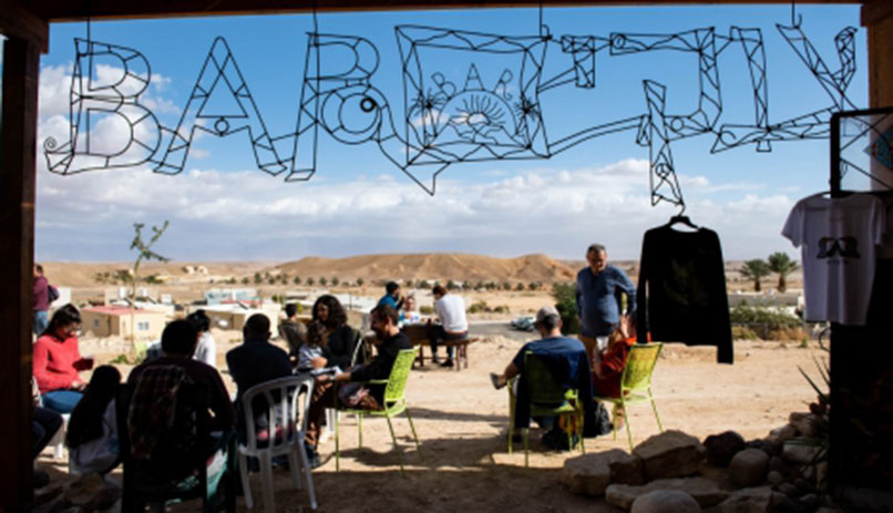 Artist village in the Negev Desert. Photo by Maya mymoni