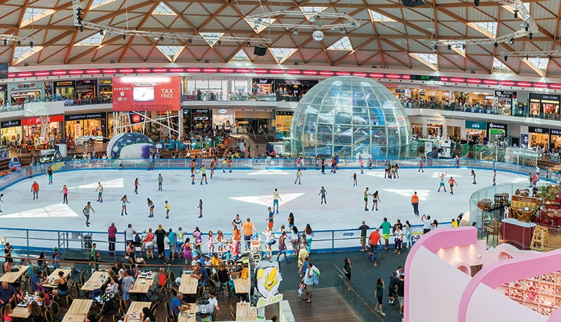 The Ice Mall in Israel